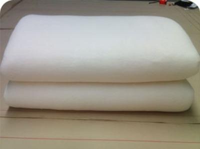 用彪牌机器人弹花机演示千层无网纯棉被的制作方法